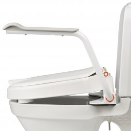 Etac Hi-Loo fixed with arm supports - angled
