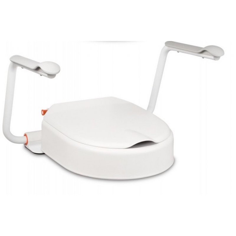 Etac Hi-Loo fixed with arm supports - 10 cm