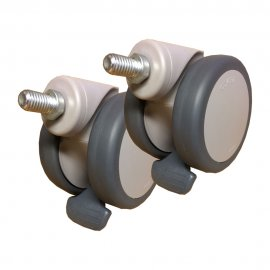 Rear Castor 75mm for Molift Mover 180 (pair)