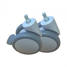 Rear Castor 100mm for Molift Mover 205 (Pair)